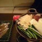 和食 様様 - 鰆のしゃぶしゃぶ小鍋