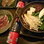 和食 様様 - 合鴨のしゃぶしゃぶ小鍋