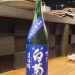 酒囲屋本店 - 大典白菊 純米酒