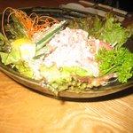 魚の蔵 - かにサラダ