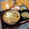 つくしや - 料理写真:ワンコインランチの「カツ丼 (500円)」