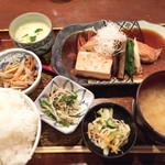 仁松庵 - 金目の煮付け 1100(税別)