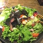 福福屋 - 海鮮サラダはワサビドレッシングで!