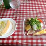 ロイ・エフアール - 前菜とパン