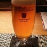 魚菜 基 - 生ビール(ジョッキ)