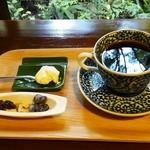 薬膳茶ソイビーンフラワー atきらら - 珈琲・白壁ブレンド(500円)