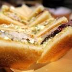 魚金 - 鯖サンド@鯖とパンは相性バツグン