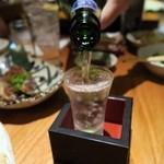 魚金 - 尾瀬の雪どけ純米大吟醸(ひやおろし)1合¥660