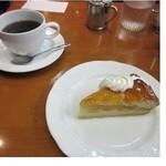 珈琲屋ROW - アップルパイ
