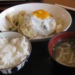 名嘉地そば - 豆腐チャンプルー650円
