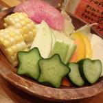 Frit いっこいっこ - 生野菜