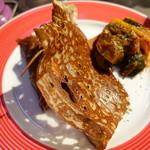 ギャルソン クレープ - ハムとチーズのガレット 自家製ラタトゥイユとっぴ