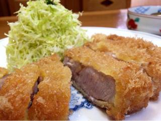 ぽん太 - とんかつ定食¥2900:ロースカツ