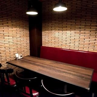 ☆☆【おしゃれな個室完備!】多数お席をご完備しております☆☆