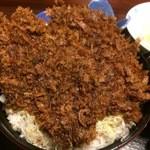 42991149 - たれかつ丼アップ1【料理】