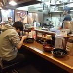 竹屋 千歳烏山店 - 店内(カウンター席)