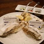 オイスター テーブル - 201510秋の生牡蠣4ピース¥1500(特別価格・通常¥2204)