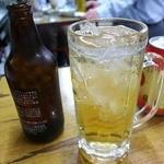内田屋 西山福之助商店 - 瓶の中のホッピーが減らない!