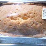 ケーキ屋 くるみ - オレンジ、イチジクのパウンドケーキ