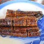 うなぎ 膳 - かば焼きセット