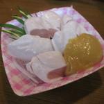 42996424 - ササミ酢味噌