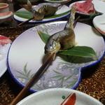 五色温泉 宗川旅館 - 岩魚塩焼