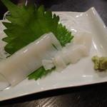 クローブ - 地物赤イカの刺身
