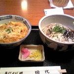 4300822 - きつね丼&そば(冷)