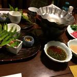 珠玉や - 料理写真:山形牛しゃぶしゃぶ&前菜