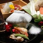 和の食彩 吉楽庵 - 冬の会席料理(前菜)