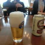 キリンビアパーク福岡 - 3杯目はラガー。