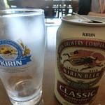 キリンビアパーク福岡 - 缶でセルフ
