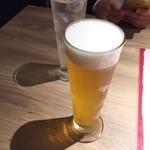 プラチナフィッシュ バル - 生ビール