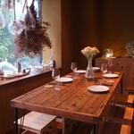 エディブルガーデン - 6名テーブル