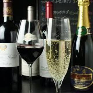 いろんな種類のワインを扱っております。
