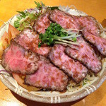 魚平 - ローストビーフ