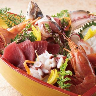 産地直送の美味しい鮮魚!