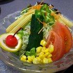 あがつま農協焼肉燦 - コンビネーションサラダ