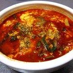 あがつま農協焼肉燦 - テグタンスープ