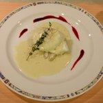 4301718 - ホワイトアスパラと落とし卵フォンドゥータ ソース