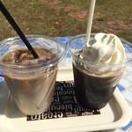 アイスクリームショップ クリークサイド - 高原カフェオレと珈琲フロート