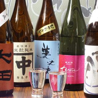 日本酒の品揃え、管理に自信有り!47都道府県の地酒全100種
