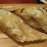 東京 大寿司 - あなごの柚子塩