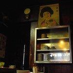 白雪温酒場 - 年月を経た店内(2)