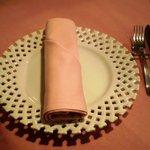 イル ヴェッキオ ムリーノ - テーブルセット