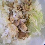美豚 - チャーシュー丼(ランチサービス)