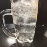 築地 銀一丁 - レモンサワー