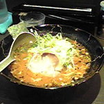 黒船 - 辛味噌ネギ麺