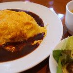 須田町食堂 - オムライス 950円