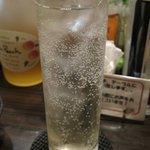 KushiyakiBar我が家 - ハーブビネガー・ローズマリーのカクテル